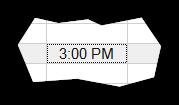 Time sheet cursor