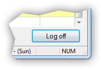 Log-off button